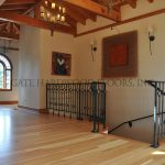 """Douglas FirClient: ContractorLocation: Laguna BeachProject Size: 2100 s/f & stair caseWood Description: Solid, ¾"""" x 3-¼"""" vertical grain, Douglas FirWood Finish: Loba water-based finish"""