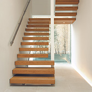 Orange County Wood Stairs Cleaning